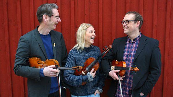 Olov Johansson, Erika Lindgren & Robert Larsson